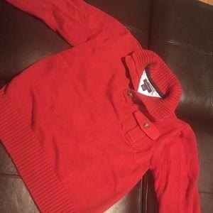 Tommy Hilfiger Red Boy's Sweater